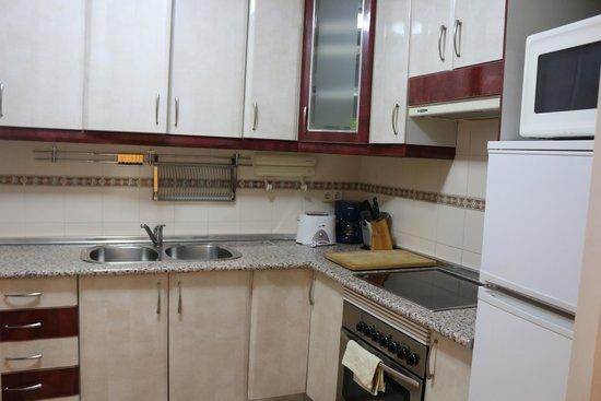 Pension Corbero: Kitchen Area