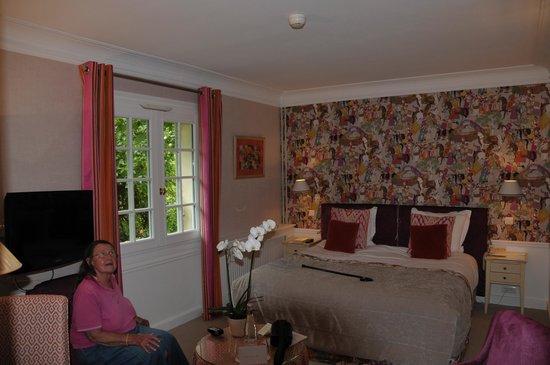 Hostellerie La Briqueterie : chambre 203