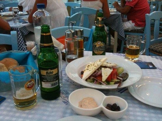 Ambrosia Restaurant - Pizzeria: insalata greca