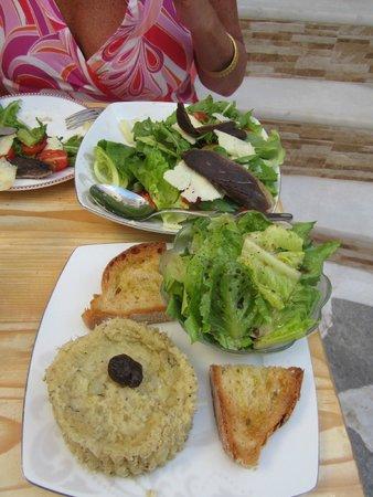 LA VIGNE WINE BAR & FOOD: Goose breast fillets and Codfish