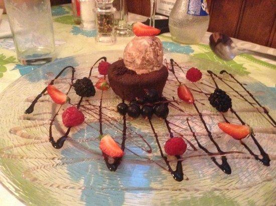 Restaurant Les 4 Saisons: Dessert