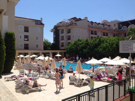 Julian Club Hotel: View from balcony (3104)