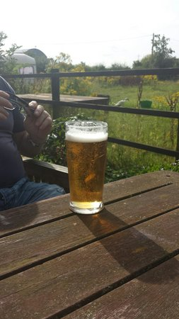 Beer and sun