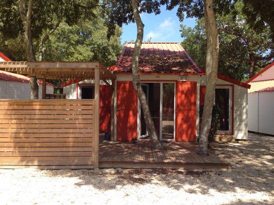 Camping Sunelia Le Bois Fleuri : Logement au calme et bien équipé