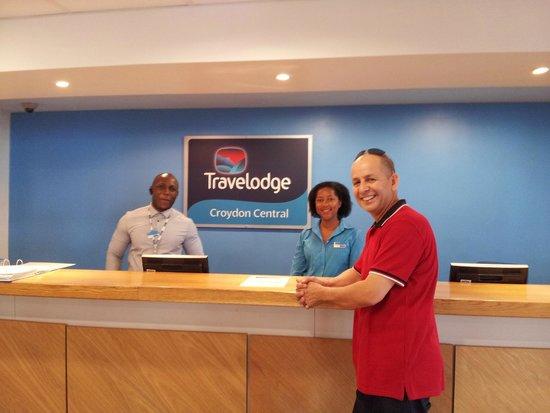 Travelodge Croydon Central Hotel: Mr. Adda GOUAICH . From Algeria