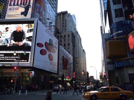 Hotel Edison Times Square : Im März 2009 zu meinem Geburtstag!