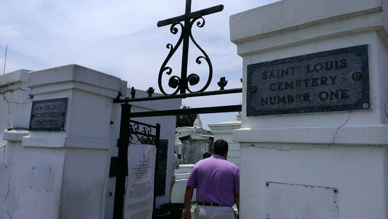 Magic Tours: Entrance to St. Louis Cemetery #1