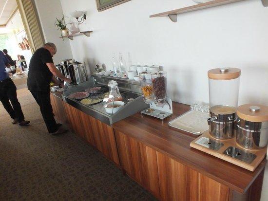 l'Alexain Hotel Restaurant : Buffet