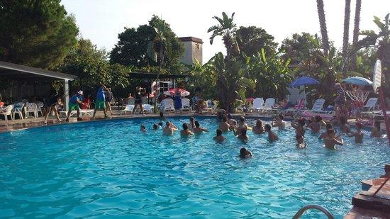 Villaggio Alkantara: Animazione piscina