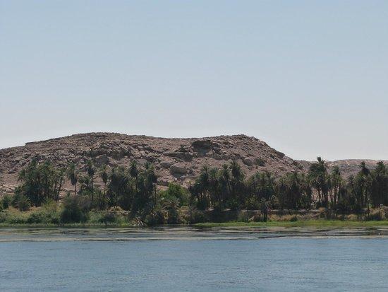 Nile River: Foto tirada do deck do navio