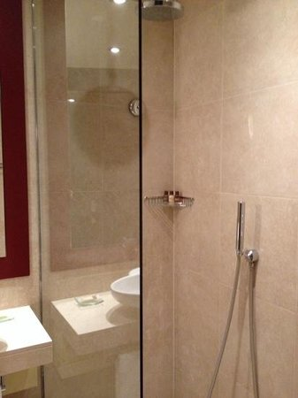 Sheraton Poznan Hotel: shower