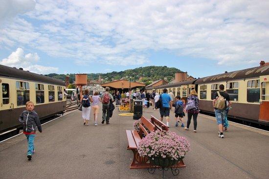 West Somerset Railway: Minehead station