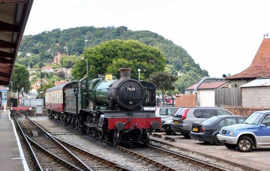 West Somerset Railway: Steam train