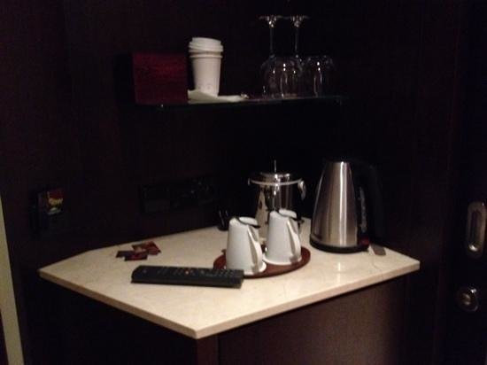 Sheraton Poznan Hotel: coffee