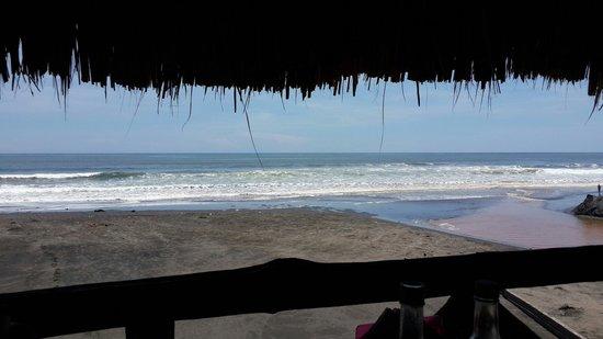 SABAS Beach Resort: Vista desde la segunda planta en Ramada.