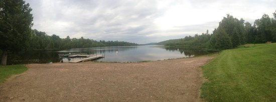 Lake Fanny Hooe Resort & Campground: The beach at Lake Fanny Hoo