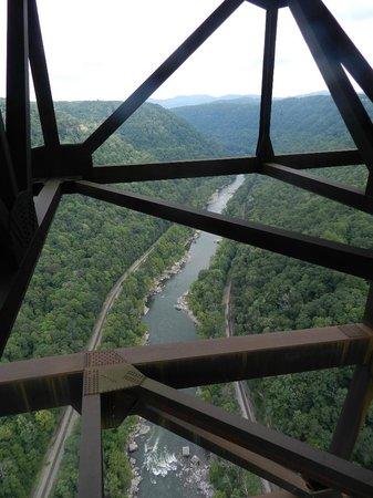 Bridge Walk- New River Gorge Bridge: the view from the catwalk