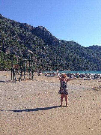 Iztuzu Beach: On the beach