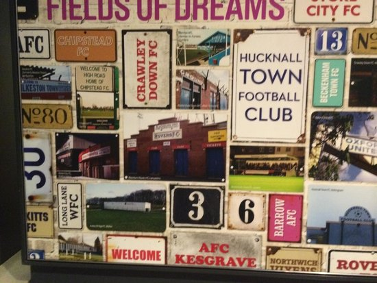 National Football Museum: Sign boards