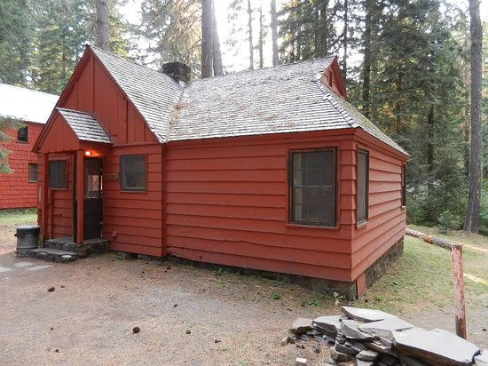 "Union Creek Resort: this was called the ""premier"" location cabin"