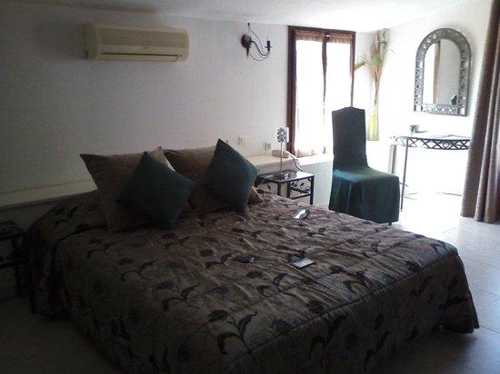 Hotel Le Tourisme: lit