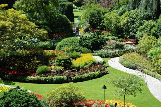 Butchart Gardens: General Scene