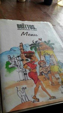 Britto's: Menu