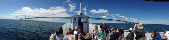 Shepler's Mackinac Island Ferry: Mighty Mac