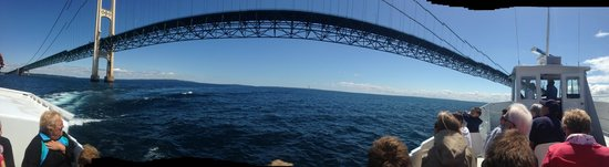 Shepler's Mackinac Island Ferry: Mighty Mac