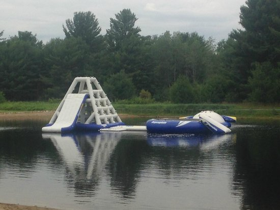 Hi-Pines Campground: Water Toys!