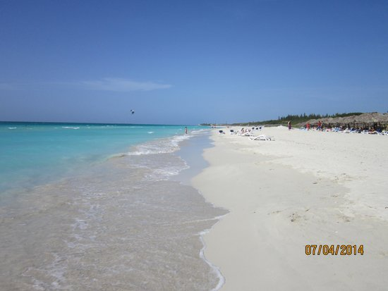 Varadero Beach From Blau Hotel