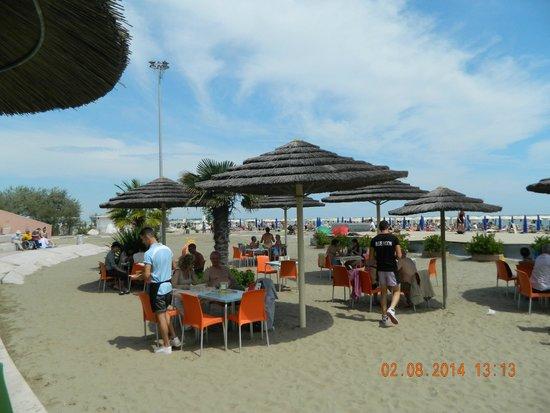 Ca' Priuli: lido beach