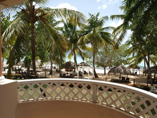 Viva Wyndham Dominicus Palace : balkonzicht
