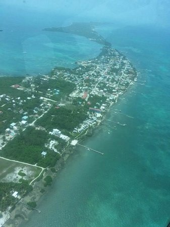 Caribbean Villas Hotel : ambergris from the air