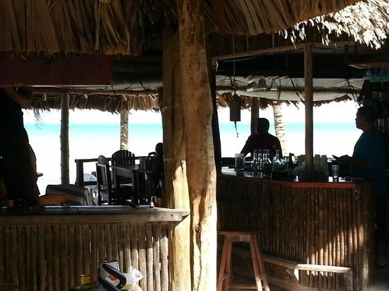 Caribbean Villas Hotel : in tiki bar