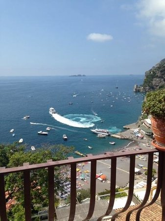 Hotel - Albergo California Positano : The view from our room number 59.