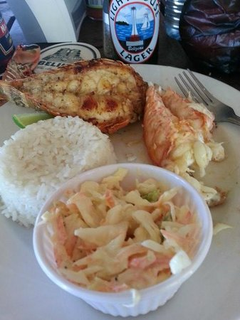 Caribbean Villas Hotel: lobster fest meal