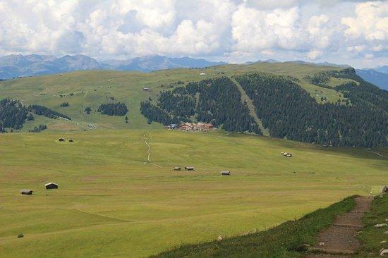 Alpenhotel Panorama: Immerso nel verde dell'Alpe di Siusi