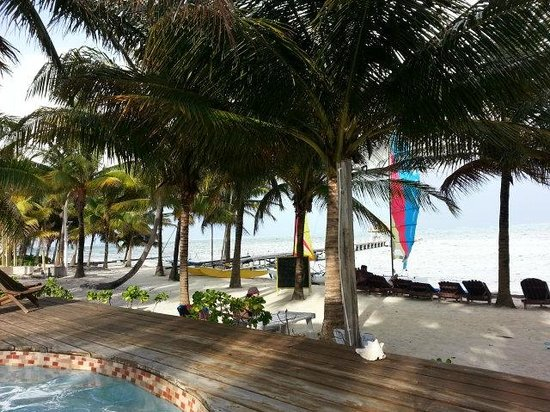 Caribbean Villas Hotel: view from pool