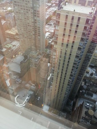 Crowne Plaza Times Square Manhattan: vista do lado do rio