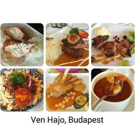 Venhajo-Etterem: Ven Hajo food collage