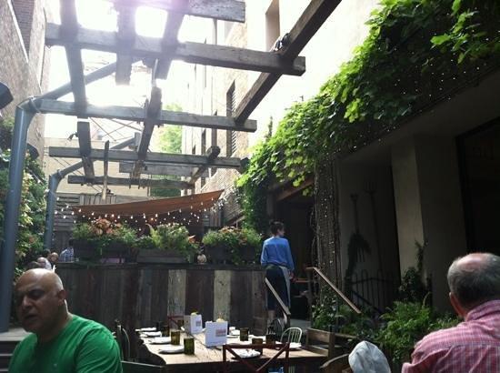 The garden at Talula's Garden