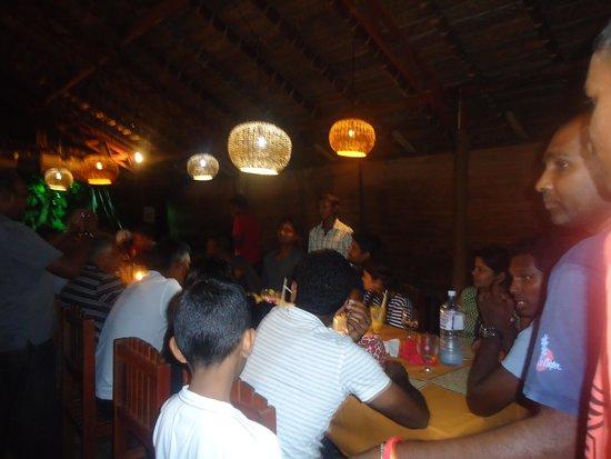 Tartaruga Hotel & Beach Restaurant: dining at tartaruga