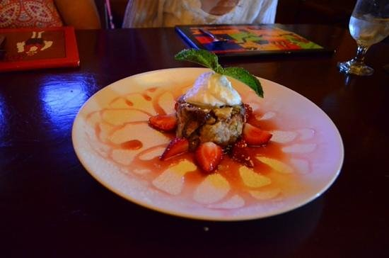 Turquoise Room: warm-prickly-pear-cactus-and-spice-bread-pudding