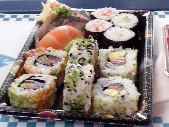 Mercado Bom Sucesso: Sushi:  a perdição