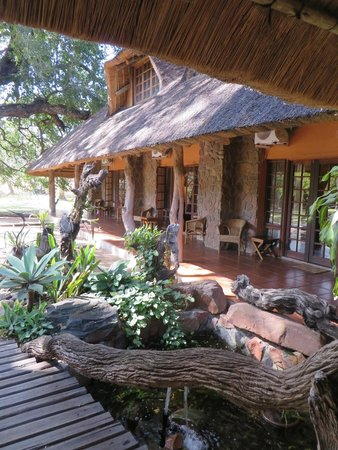 Blyde River Canyon Lodge: rooms 1-5 side