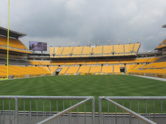 Heinz Field: By the main gate entrance coming in to the stadium
