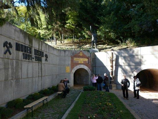 Pernik, Bulgaria: In front of the Museum