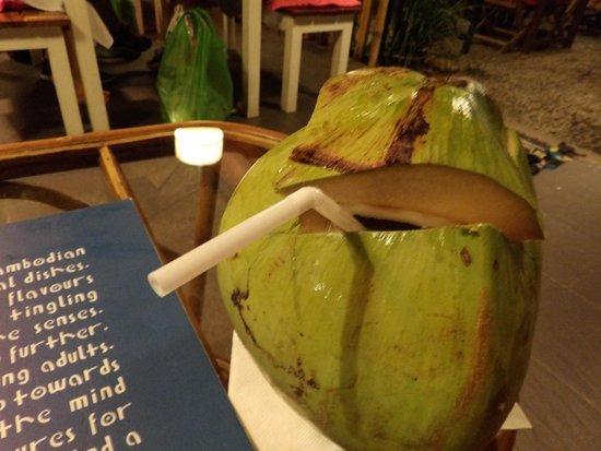 Haven: Fresh coconut