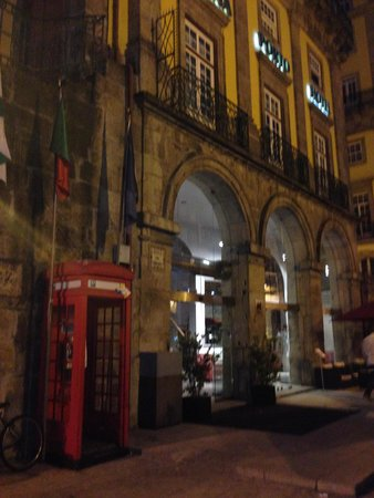Pestana Vintage Porto: frent do hotel